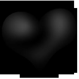 {blackemo}:heart: