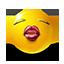 {yellow}:kiss:
